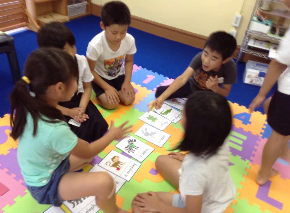 陣取りゲーム。。白熱戦!|子ども英会話教室エンデバー通信0624