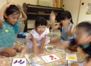 子ども英会話教室エンデバーの授業の様子