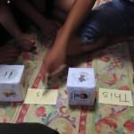子ども英会話〜サイコロで英文作り!