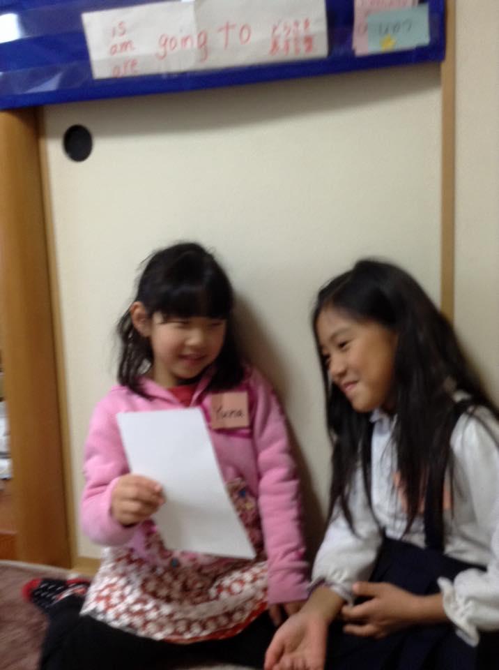 熊本市の子ども英語教室エンデバーの授業の様子2