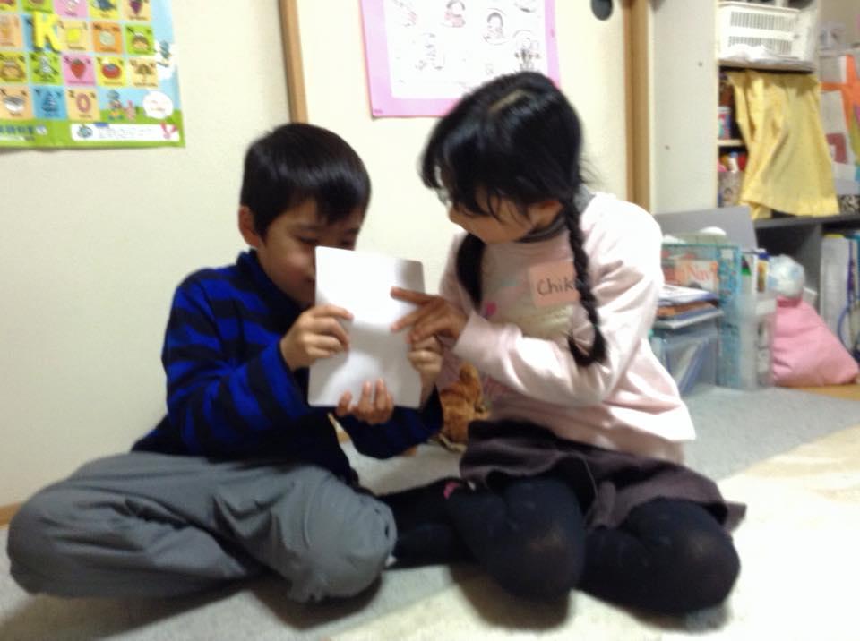 熊本市の子ども英語教室エンデバーの授業の様子3