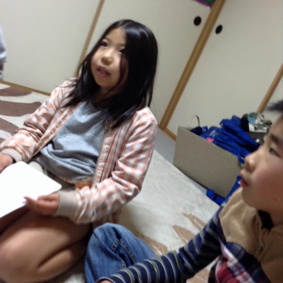 熊本市の子ども英会話教室エンデバーの授業の様子2
