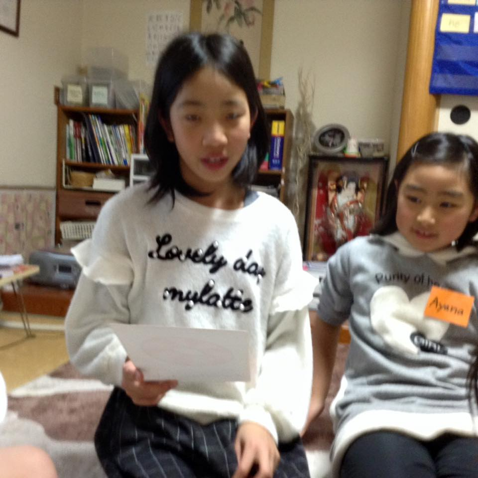 熊本市の子ども英会話教室エンデバーの授業の様子3