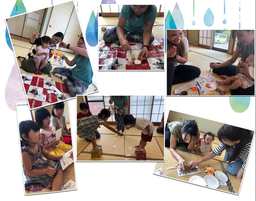 熊本市子ども英語教室エンデバーの様子
