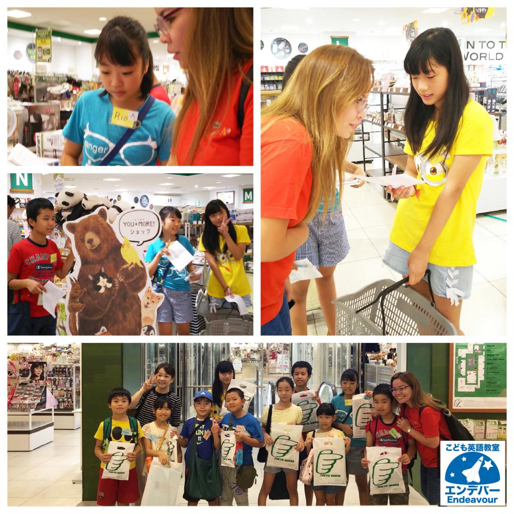 英語買い物体験!熊本の子ども英語教室エンデバー3