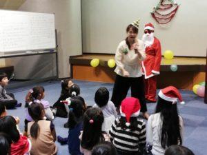 クリスマス発表会の様子