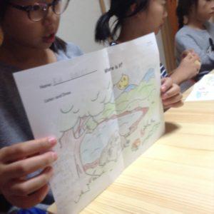 多読授業の様子2