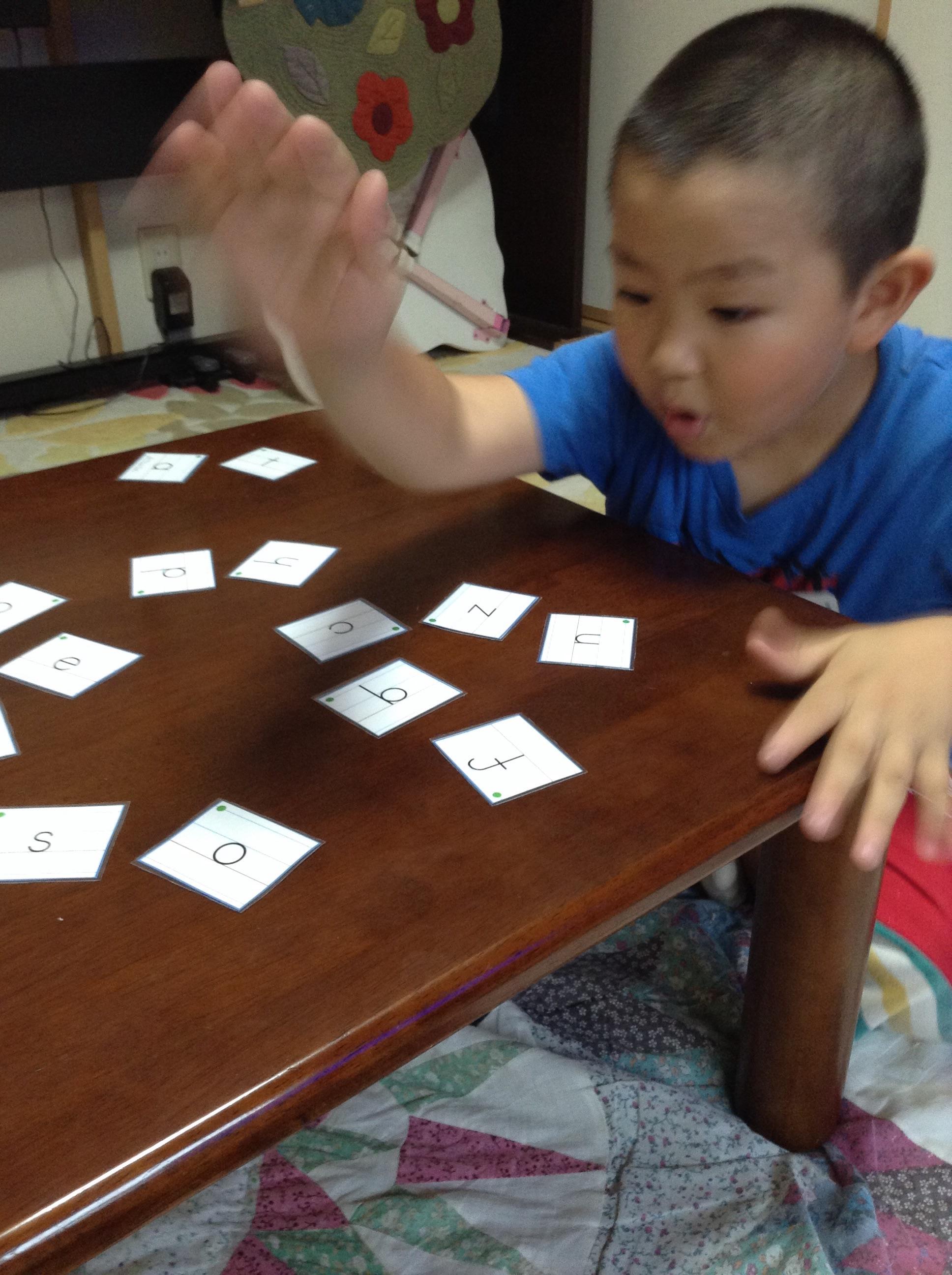 動物単語。。いっぱい。。ゲームで制覇だー。|子ども英会話教室エンデバー通信0625