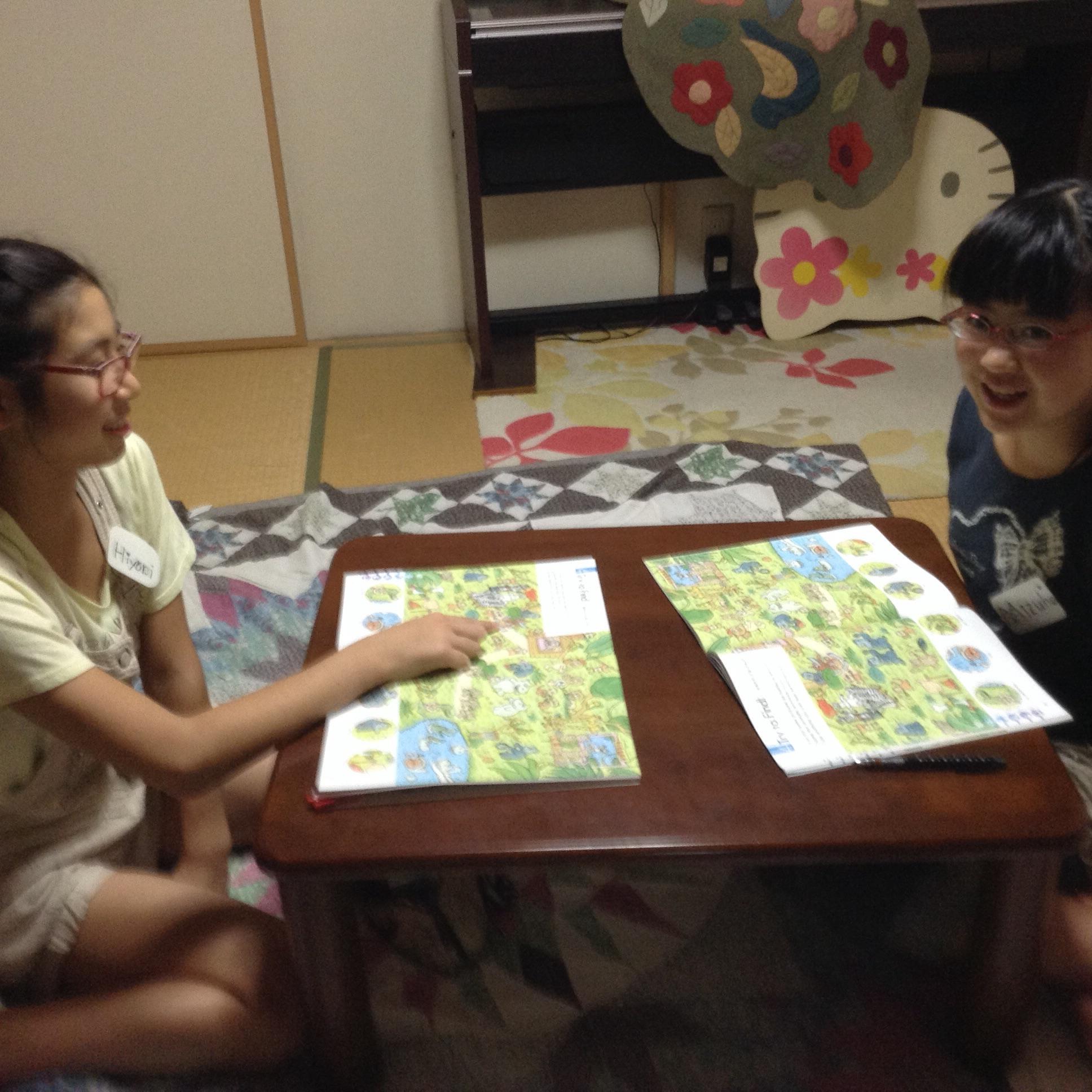 カラオケに行きたい|子ども英会話教室エンデバー通信9月4日