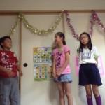 ミニミニ発表会をしました〜:月曜組